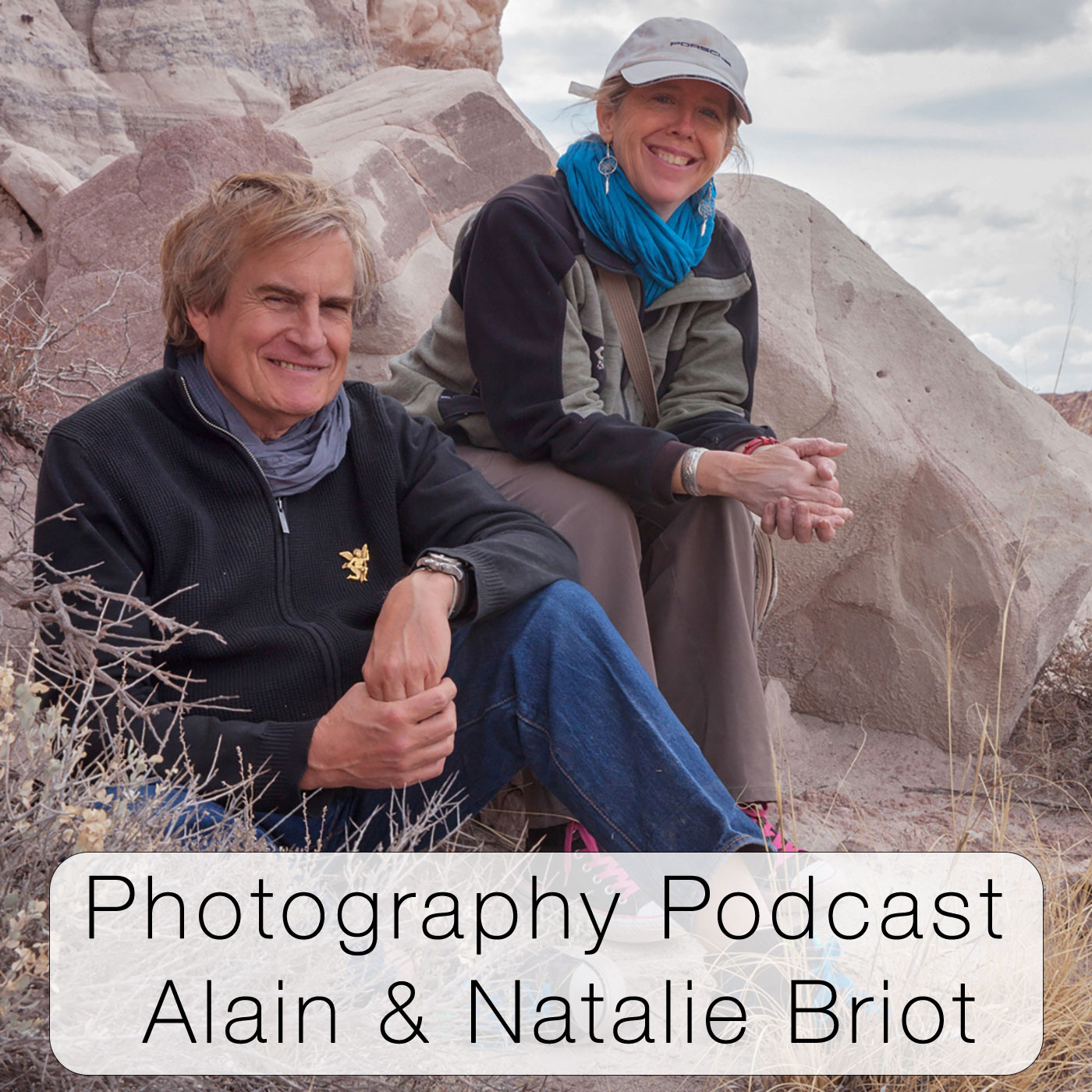 Photography Podcast with Alain and Natalie Briot